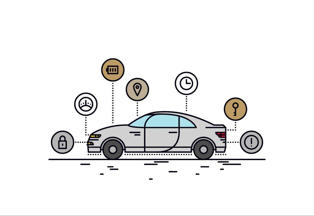 CRITERION Gépjárművédelem rendszer elemei